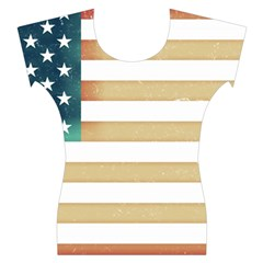 Usa7 Women s Cap Sleeve Top