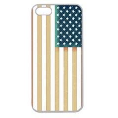 Usa7a Apple Seamless iPhone 5 Case (Clear)