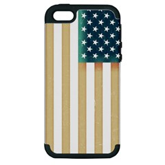 Usa7a Apple iPhone 5 Hardshell Case (PC+Silicone)