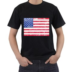 Usa8 Men s T-Shirt (Black) (Two Sided)