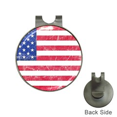 Usa8 Hat Clips with Golf Markers