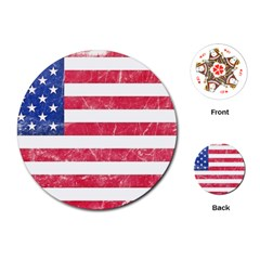 Usa8 Playing Cards (Round)