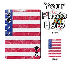 Usa8 Playing Cards 54 Designs