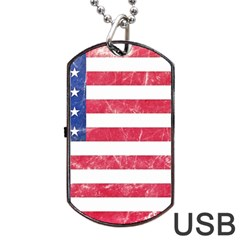 Usa8 Dog Tag USB Flash (Two Sides)