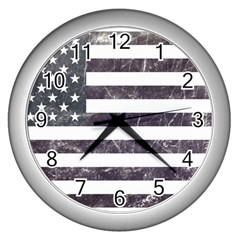 Usa9 Wall Clocks (Silver)