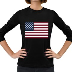 Usa999 Women s Long Sleeve Dark T-Shirts