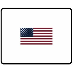 Usa999 Double Sided Fleece Blanket (Medium)