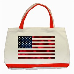 Usa9999 Classic Tote Bag (Red)