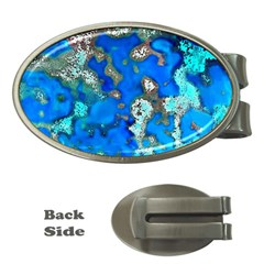 Cocos Reef Sinkholes Money Clips (Oval)