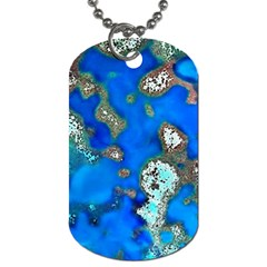 Cocos Reef Sinkholes Dog Tag (two Sides)