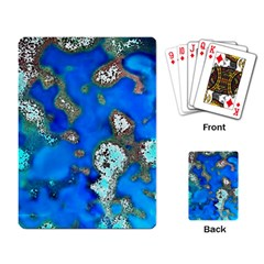 Cocos Reef Sinkholes Playing Card