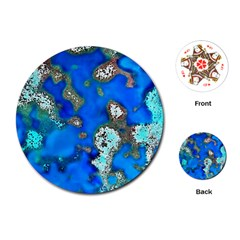 Cocos Reef Sinkholes Playing Cards (Round)