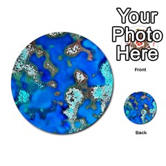 Cocos Reef Sinkholes Multi Purpose Cards (round)