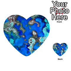 Cocos Reef Sinkholes Multi-purpose Cards (Heart)