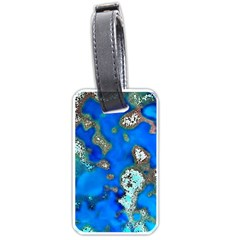 Cocos Reef Sinkholes Luggage Tags (Two Sides)