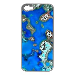 Cocos Reef Sinkholes Apple iPhone 5 Case (Silver)