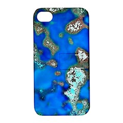Cocos Reef Sinkholes Apple iPhone 4/4S Hardshell Case with Stand