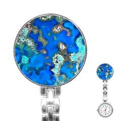 Cocos Reef Sinkholes Stainless Steel Nurses Watches