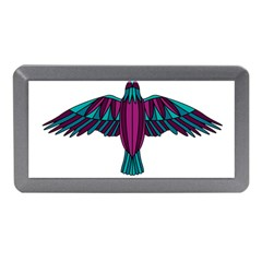 Stained Glass Bird Illustration  Memory Card Reader (Mini)