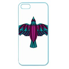 Stained Glass Bird Illustration  Apple Seamless iPhone 5 Case (Color)