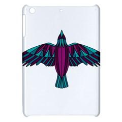 Stained Glass Bird Illustration  Apple Ipad Mini Hardshell Case