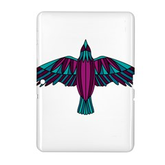 Stained Glass Bird Illustration  Samsung Galaxy Tab 2 (10.1 ) P5100 Hardshell Case