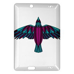Stained Glass Bird Illustration  Kindle Fire HD (2013) Hardshell Case