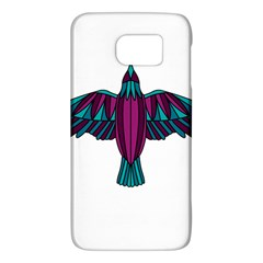 Stained Glass Bird Illustration  Galaxy S6