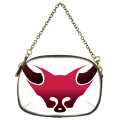 Fox Logo Red Gradient  Chain Purses (two Sides)