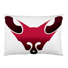 Fox Logo Red Gradient  Pillow Cases (Two Sides)
