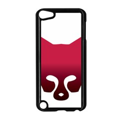 Fox Logo Red Gradient  Apple iPod Touch 5 Case (Black)