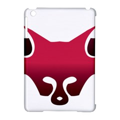 Fox Logo Red Gradient  Apple iPad Mini Hardshell Case (Compatible with Smart Cover)