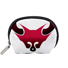Fox Logo Red Gradient  Accessory Pouches (Small)