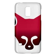 Fox Logo Red Gradient  Galaxy S5 Mini