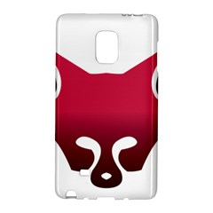 Fox Logo Red Gradient  Galaxy Note Edge