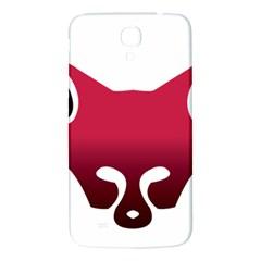 Fox Logo Red Gradient  Samsung Galaxy Mega I9200 Hardshell Back Case