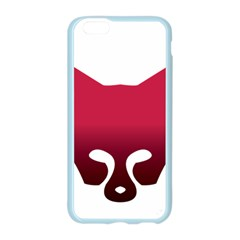 Fox Logo Red Gradient  Apple Seamless iPhone 6/6S Case (Color)