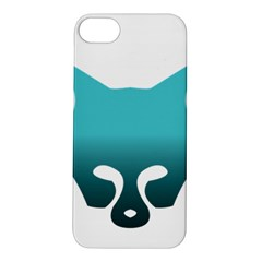 Fox Logo Blue Gradient Apple iPhone 5S Hardshell Case