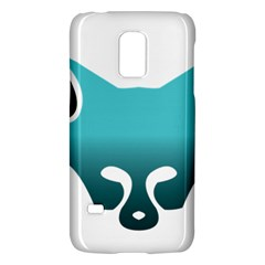 Fox Logo Blue Gradient Galaxy S5 Mini