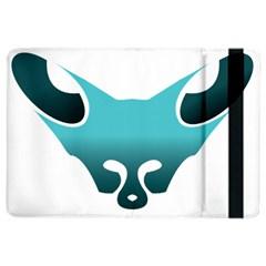 Fox Logo Blue Gradient iPad Air 2 Flip