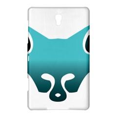Fox Logo Blue Gradient Samsung Galaxy Tab S (8 4 ) Hardshell Case