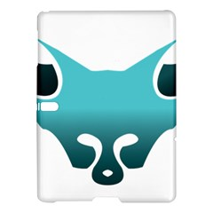 Fox Logo Blue Gradient Samsung Galaxy Tab S (10.5 ) Hardshell Case