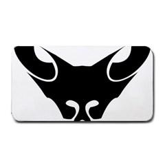 Black Fox Logo Medium Bar Mats