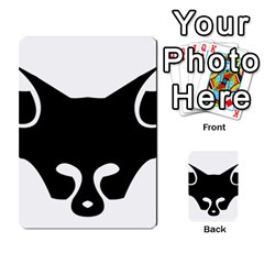 Black Fox Logo Multi-purpose Cards (Rectangle)