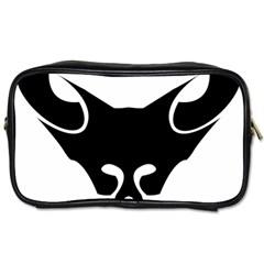 Black Fox Logo Toiletries Bags 2-Side