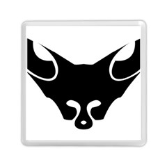 Black Fox Logo Memory Card Reader (Square)