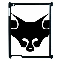 Black Fox Logo Apple iPad 2 Case (Black)