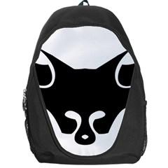 Black Fox Logo Backpack Bag