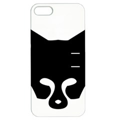 Black Fox Logo Apple iPhone 5 Hardshell Case with Stand