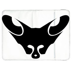 Black Fox Logo Samsung Galaxy Tab 7  P1000 Flip Case